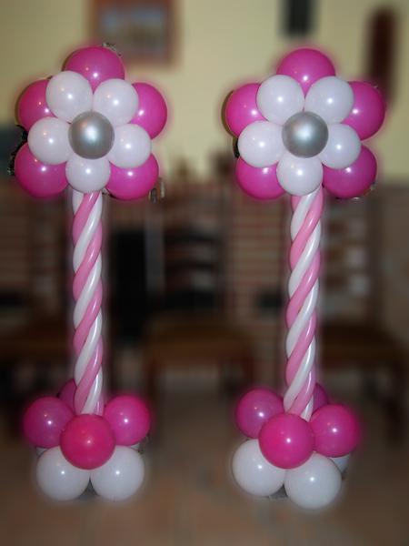 Como Hacer Flor Con Globos Beautiful Fiestas Infantiles With Como - Como-hacer-flores-de-globos